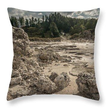 Rotorua Throw Pillow