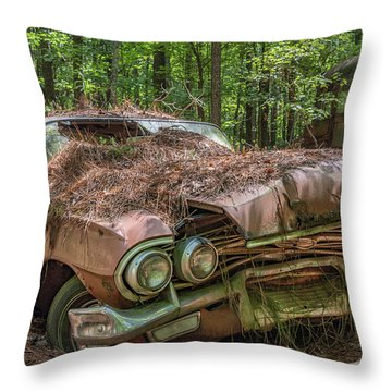 Rotting Classic In Color Throw Pillow