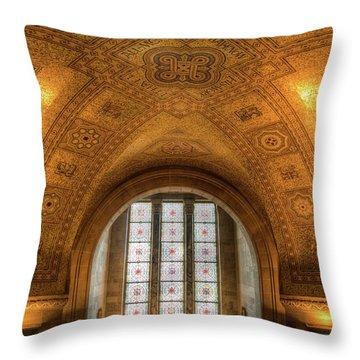 Rotunda Ceiling Royal Ontario Museum Throw Pillow
