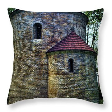 Throw Pillow featuring the photograph Rotunda  by Mariola Bitner