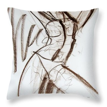 Rough  Throw Pillow by Jarko Aka Lui Grande