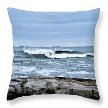 Rough Seas 2 Throw Pillow