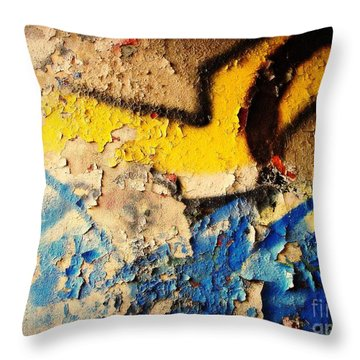 Throw Pillow featuring the photograph Listen To The City by Kristine Nora