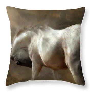 Roundness Throw Pillow