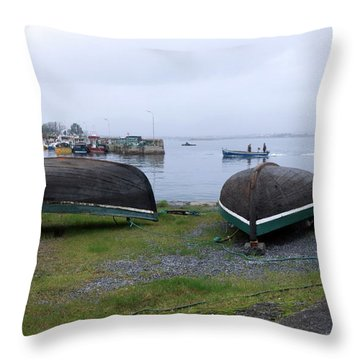 Roundstone 2 Throw Pillow