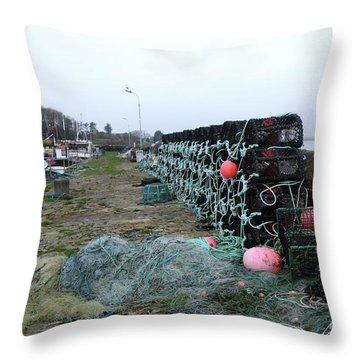 Roundstone 3 Throw Pillow