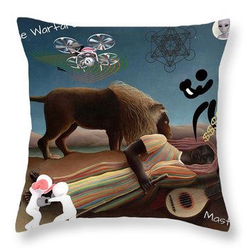 Rousseau's Nightmare Throw Pillow