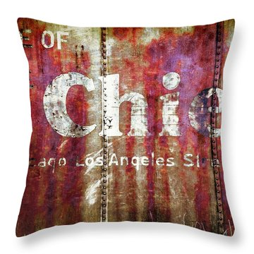 Route Of The Chief Throw Pillow