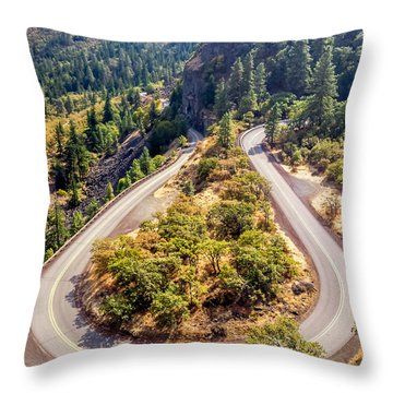 Rowena Loop Throw Pillow