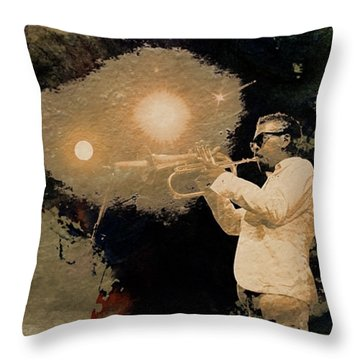 Roy Hargrove, Rustic Times  Throw Pillow