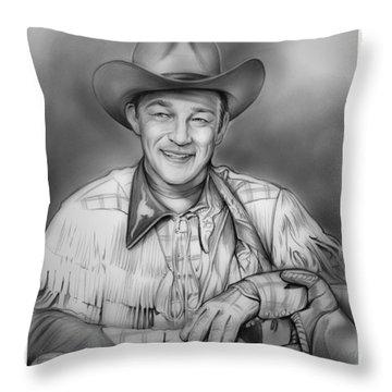 King George Throw Pillows