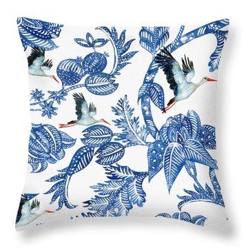 Royal Batik Migration Throw Pillow