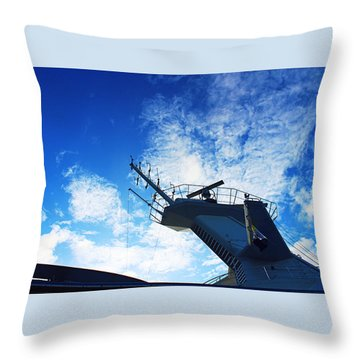 Royal Caribbean Cruise Throw Pillow by Infinite Pixels