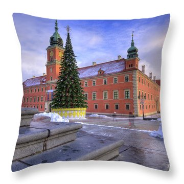 Throw Pillow featuring the photograph Royal Castle by Juli Scalzi