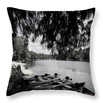 Royal Fleet Throw Pillow