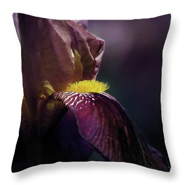 Royal Flush Throw Pillow by John Poon