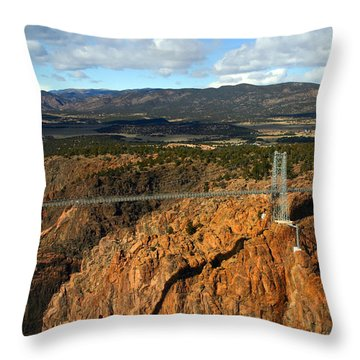 Royal Gorge Throw Pillow