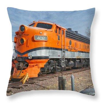 Royal Gorge Route 402 Throw Pillow