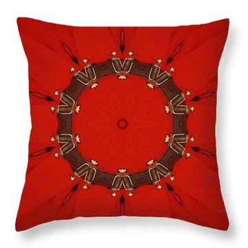 Royal Red Throw Pillow