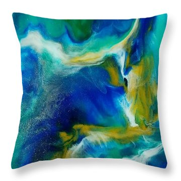 Royal Sands Throw Pillow