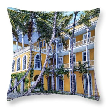Royal Victoria Throw Pillow