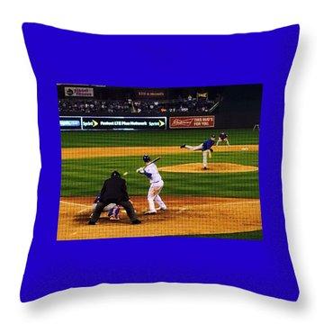 Royals 2016 Season Opener Throw Pillow