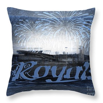 Royals Throw Pillow by Andee Design