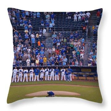 Royals National Anthem Throw Pillow