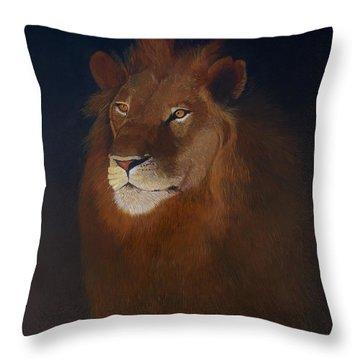 Royalty Throw Pillow by Jean Yves Crispo