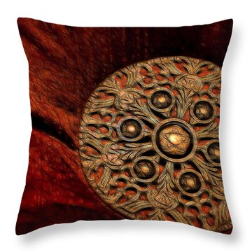 Royalty Throw Pillow by Steven Richardson
