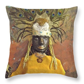 Royalty Throw Pillow by Terry Honstead