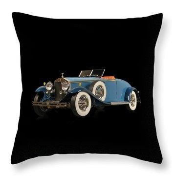 Royce Phantom II Throw Pillow