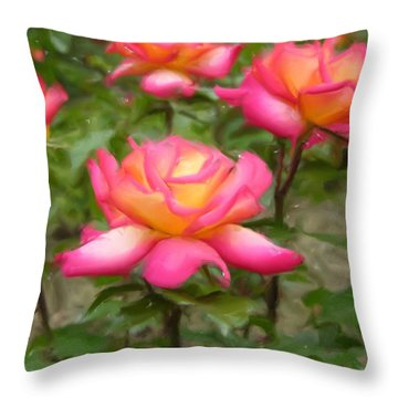 r.'Rainbow Sorbet' 86384d Throw Pillow