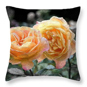 r.'Strike It Rich' 1309 Throw Pillow