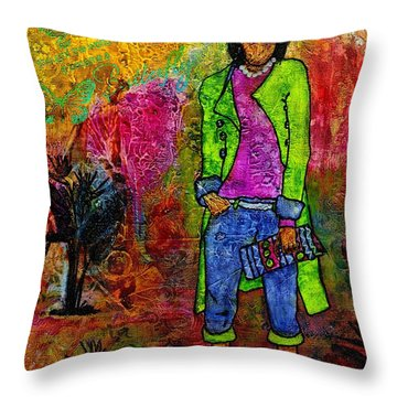 Rtr - Ready To Roll Throw Pillow