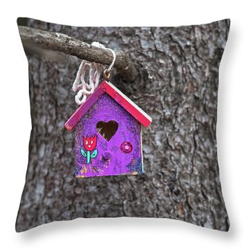 Throw Pillow featuring the photograph Rubicund.. by Nina Stavlund