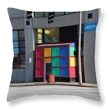Rubik Shelter Throw Pillow