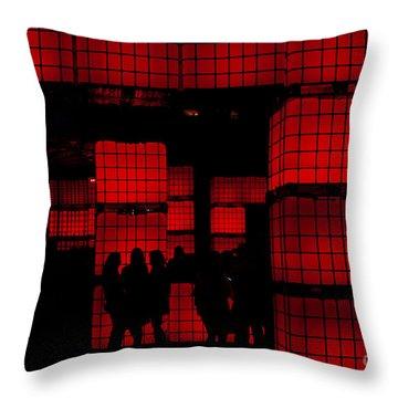 Rubik's Dream Throw Pillow by Andrew Paranavitana