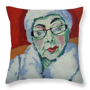 Ruby May Box Birmingham Throw Pillow by Nop Briex