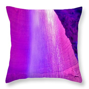 Ruby Niagara Falls Throw Pillow