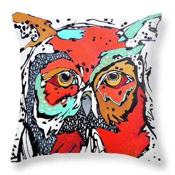 Ruby Two Throw Pillow