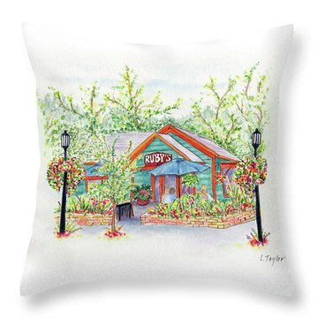 Ruby's Throw Pillow