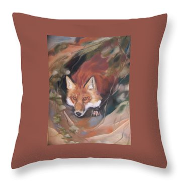 Rudy Adult Throw Pillow by Marika Evanson