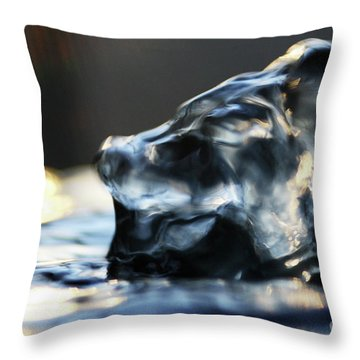 Ruff Ruff Water Throw Pillow