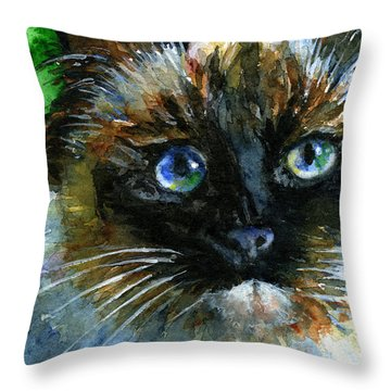 Ruffian II Throw Pillow by John D Benson