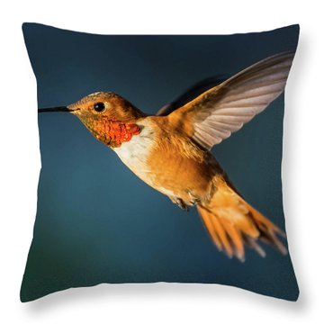 Rufous Throw Pillow