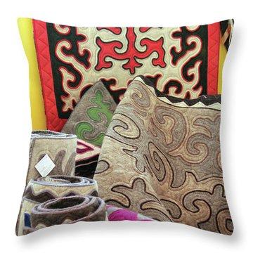 Rug Sale Throw Pillow by Alycia Christine