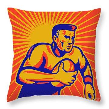 Rugby League Throw Pillows