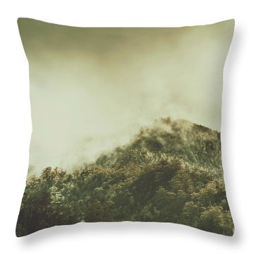 Rugged Atmosphere Throw Pillow