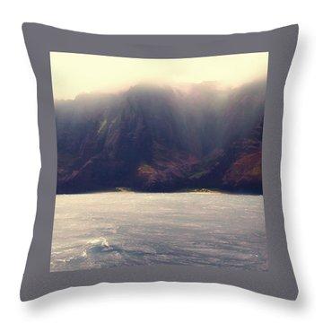 Rugged Coast Throw Pillow